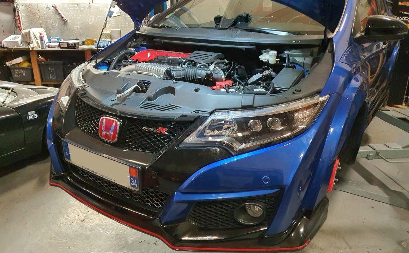 Préparation Honda Civic Type R FK2
