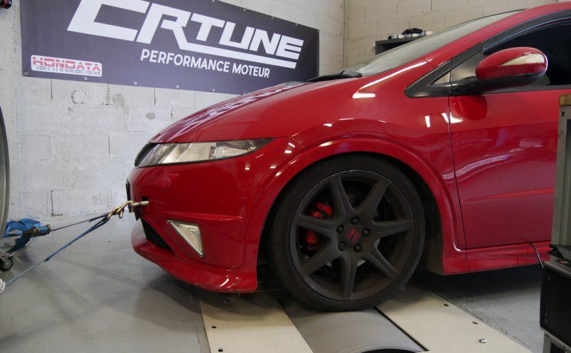 Reprogrammations E85 et SP98 pour Civic Type R FN2