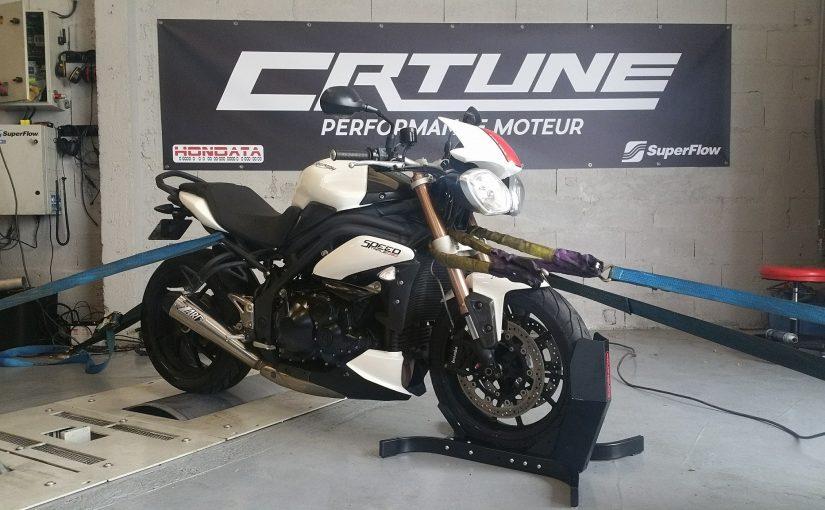 Mesure de puissance moto